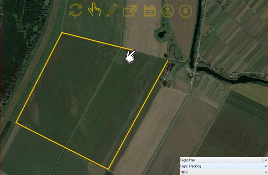 dron - plan letenja