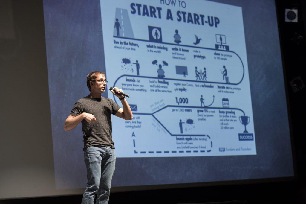 Vukan Simić na Znam da možemo pričao o tome kako pokrenuti startap